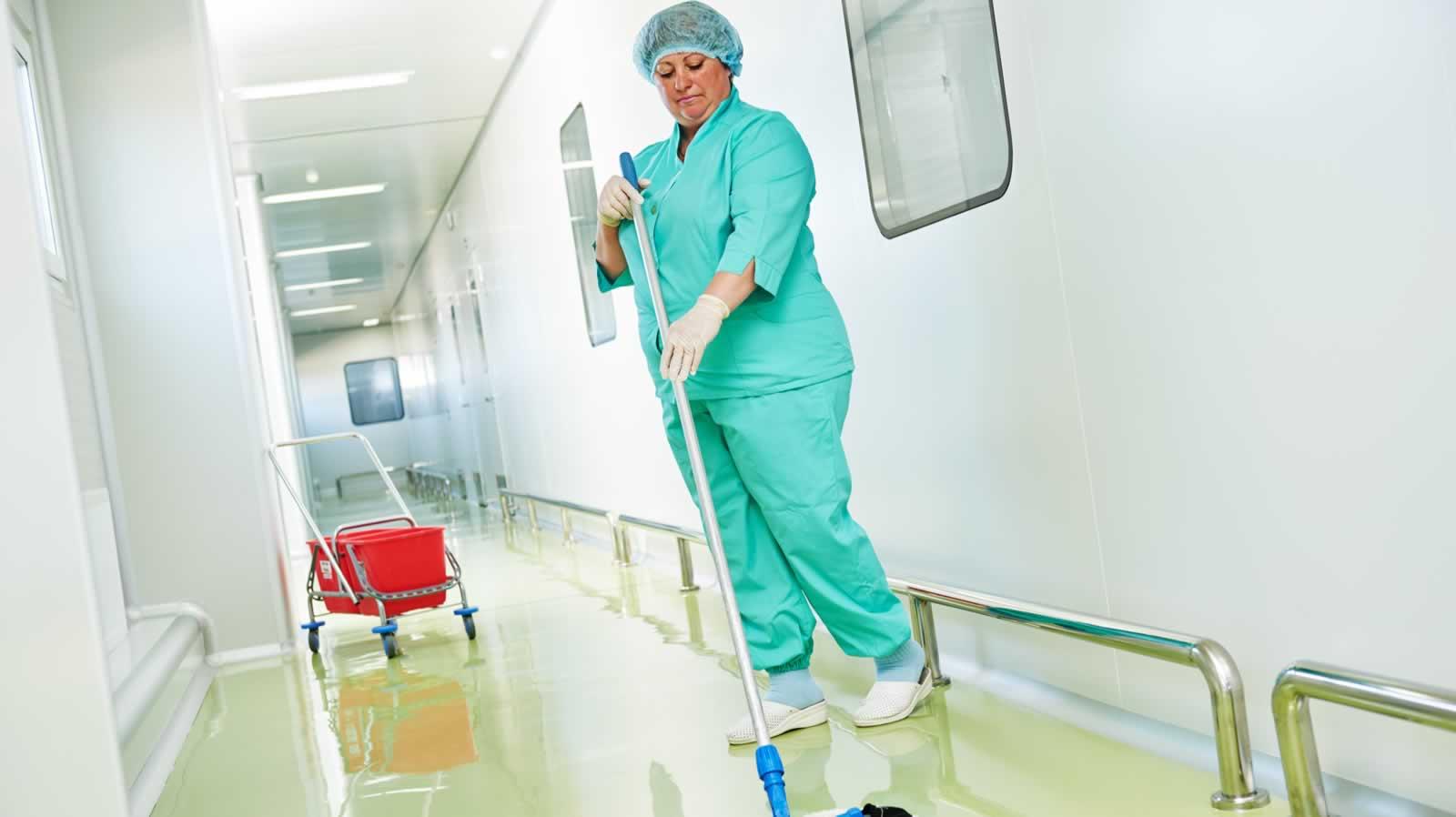 Personal para limpieza hospitalaria