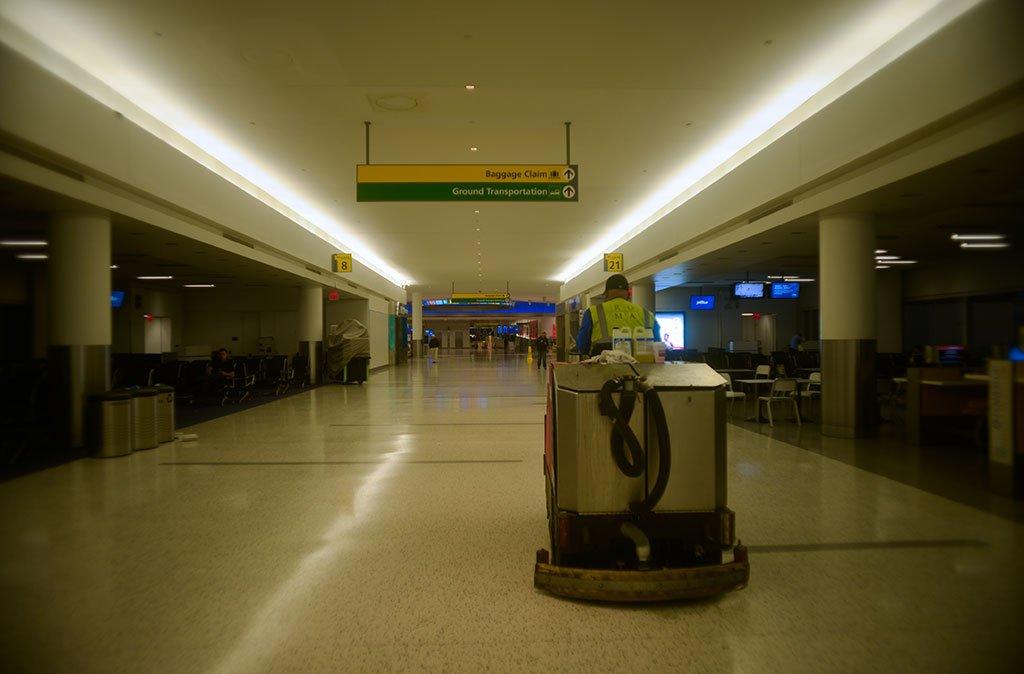 limpieza aeropuertos