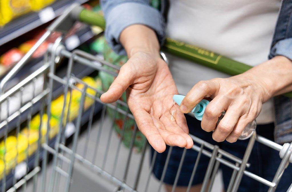 limpieza en supermercado